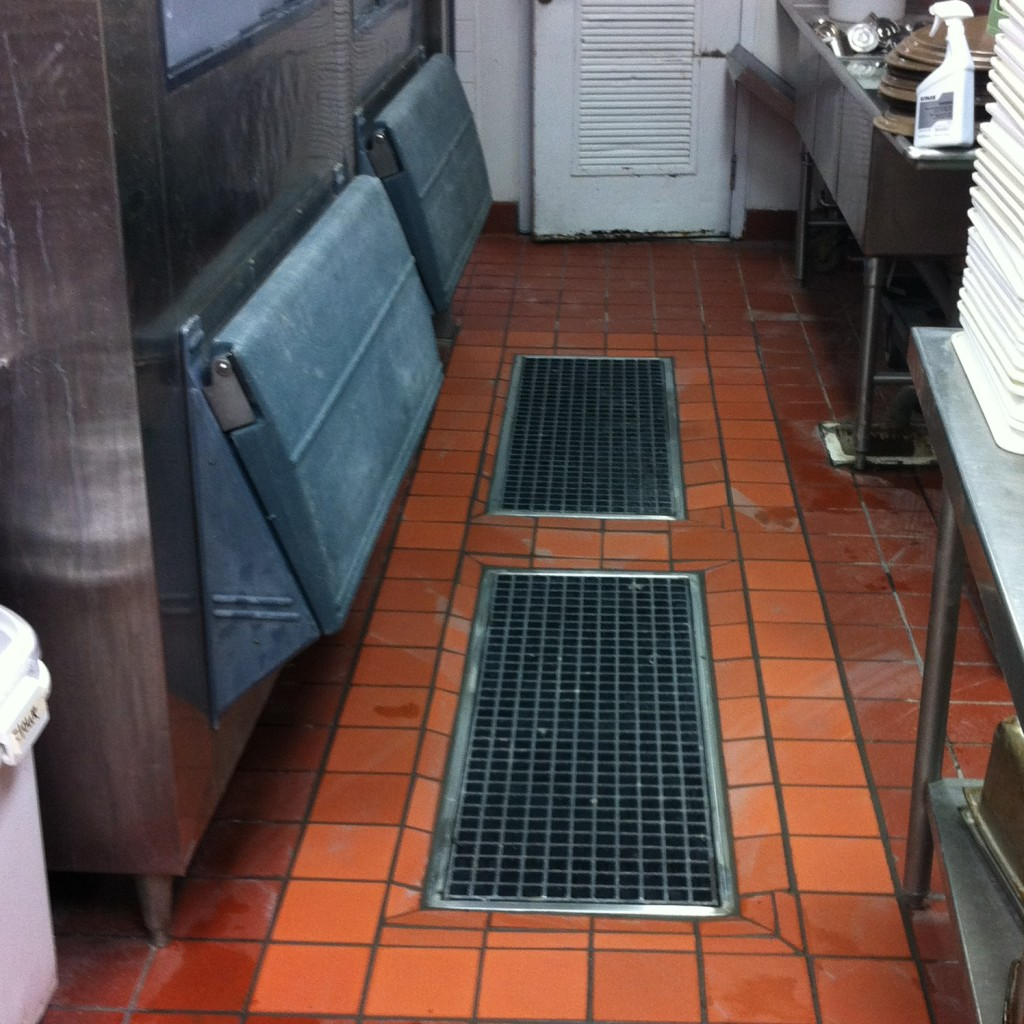commercial kitchen floor drains trench drains 5616